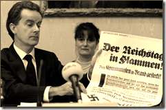 """Bild: """"Der Reichstag in Flammen!"""""""