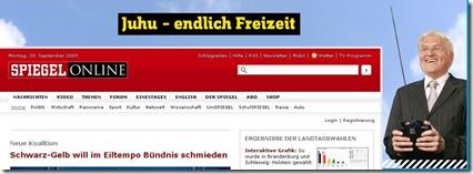Steinmeier nach der Wahl